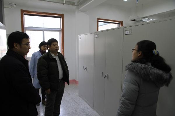 赵勇视察指导陕西备份馆建设工作